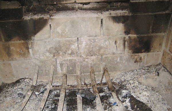 fireplace firebrick panels. Cracked Brick  Mortar Firebox Repairs